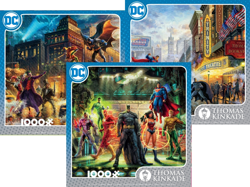 KINKADE DC COMICS 1000pc asstd