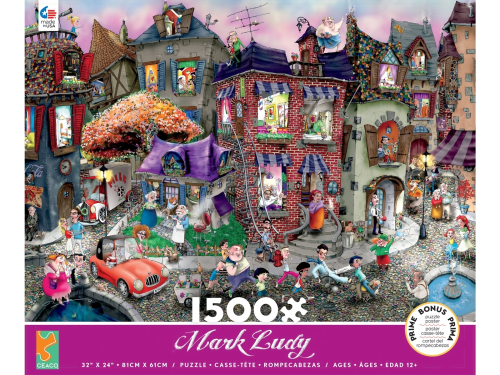 MARK LUDY 1500pcs