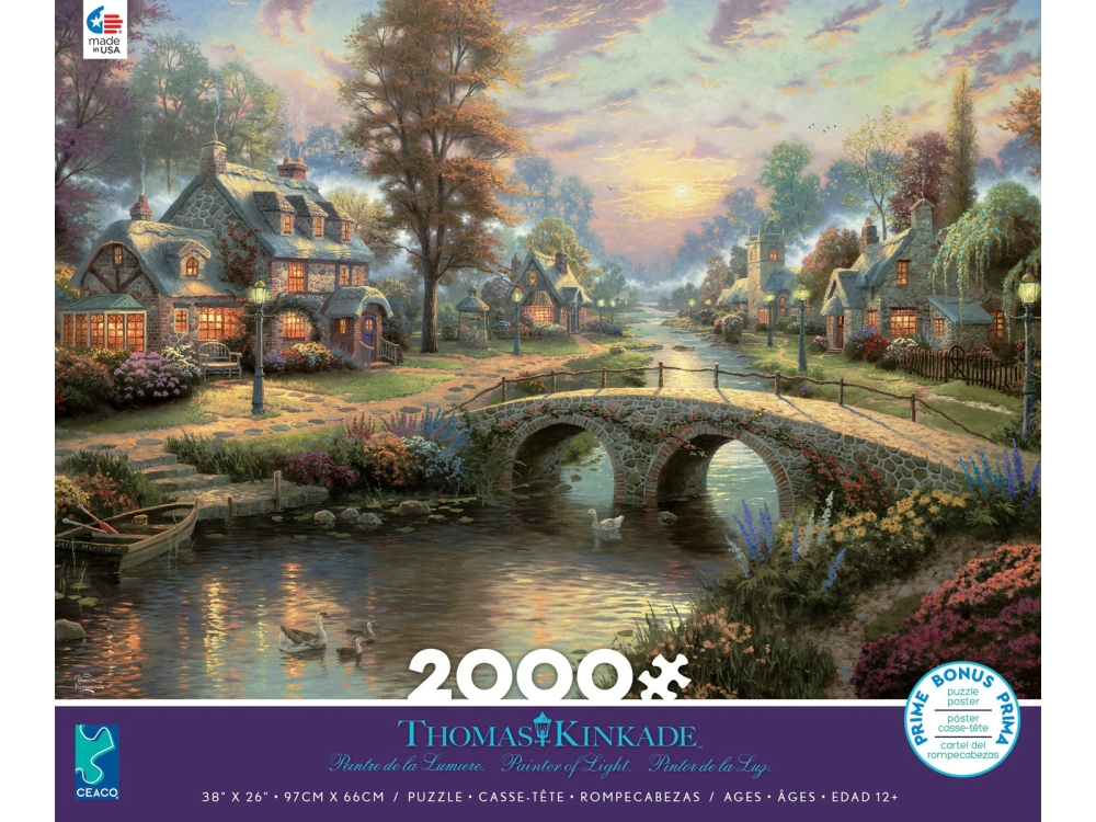KINKADE SUNSET LAMPLIGHT 2000p