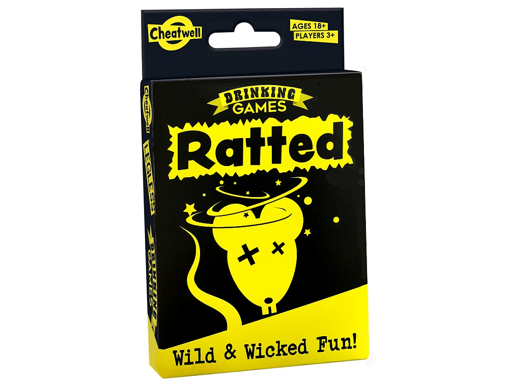 RATTED Drinking Card Game