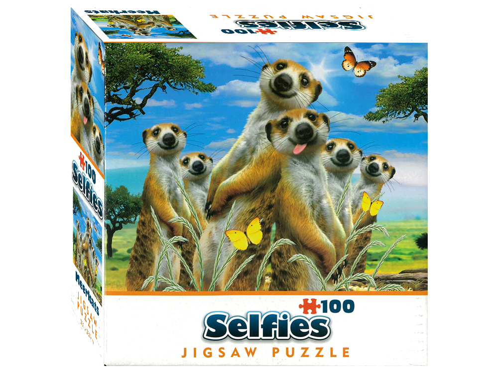 SELFIES MINIS 100pc MEERKATS