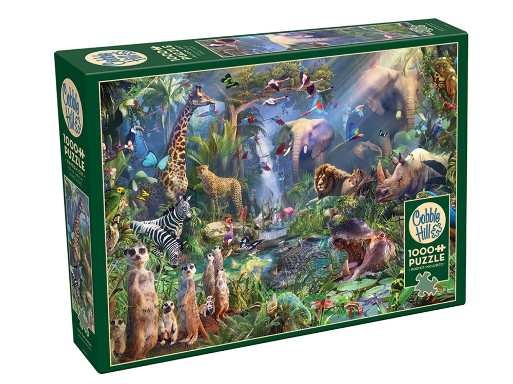 INTO THE JUNGLE 1000pc