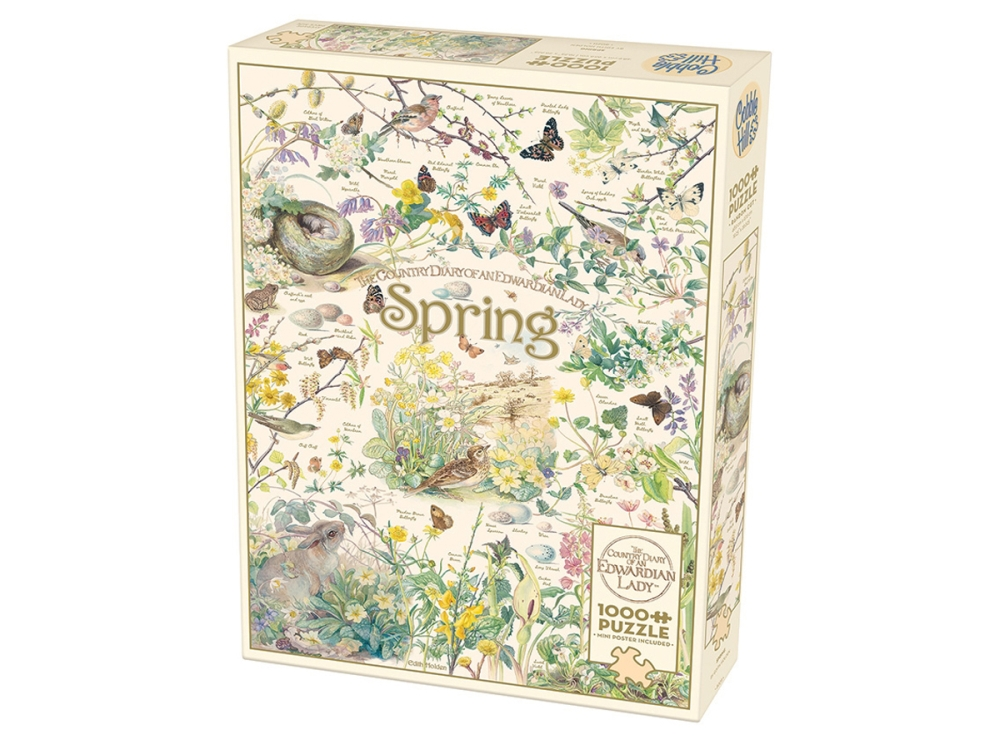 COUNTRY DIARY: SPRING 1000pc