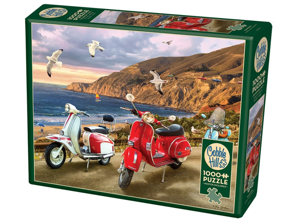 SCOOTERS 1000pc