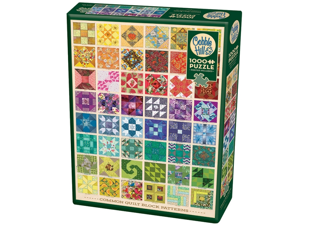 COMMON QUILT BLOCKS 1000pc