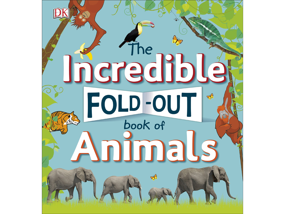 FOLD OUT BOOK OF ANIMALS