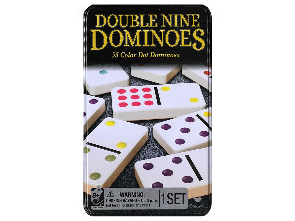 DOMINOES D9 COLOR DOT(Cardinal)