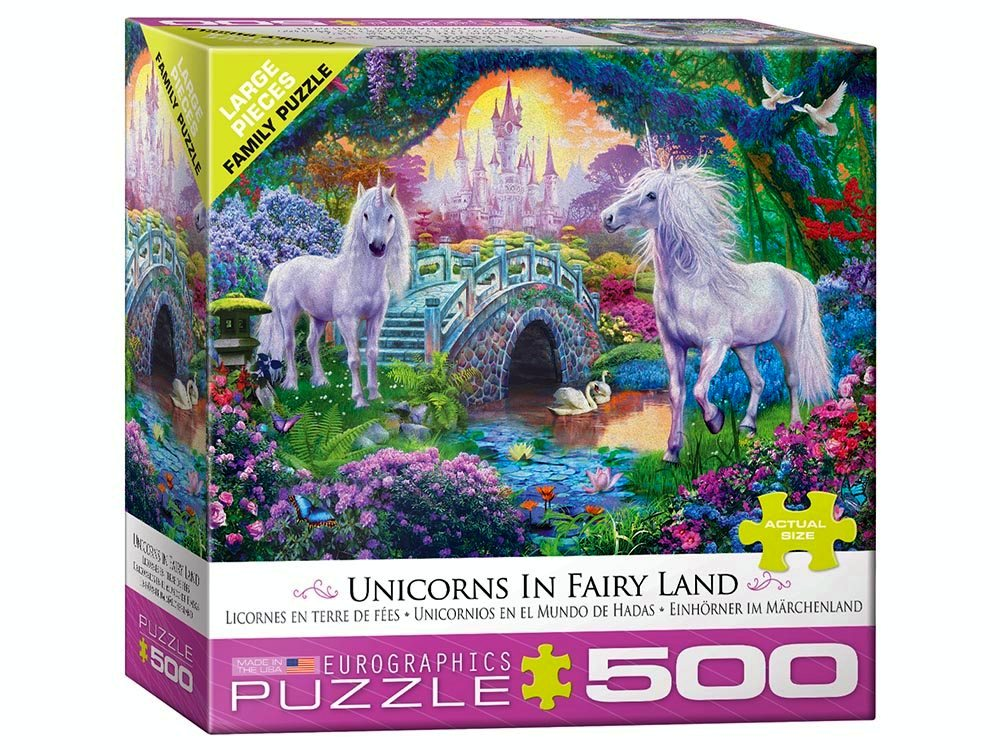 UNICORNS IN FAIRYLAND 500pcXL