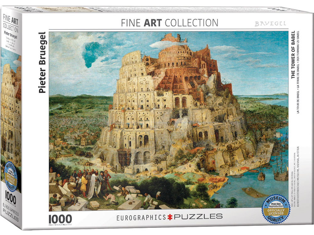 BOSCH, TOWER OF BABEL 1000pc