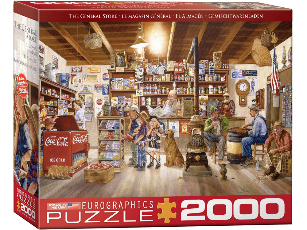 THE GENERAL STORE 2000pc