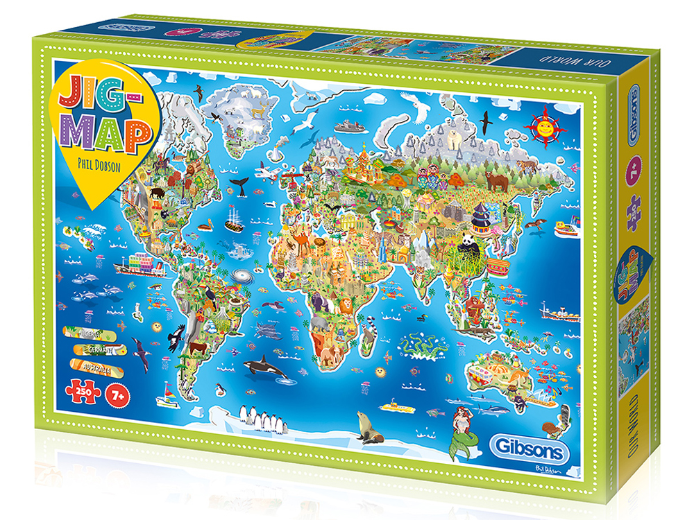 JIGMAP OUR WORLD 250pcs