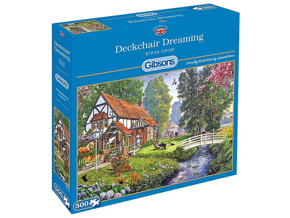 DECKCHAIR DREAMING 500pc