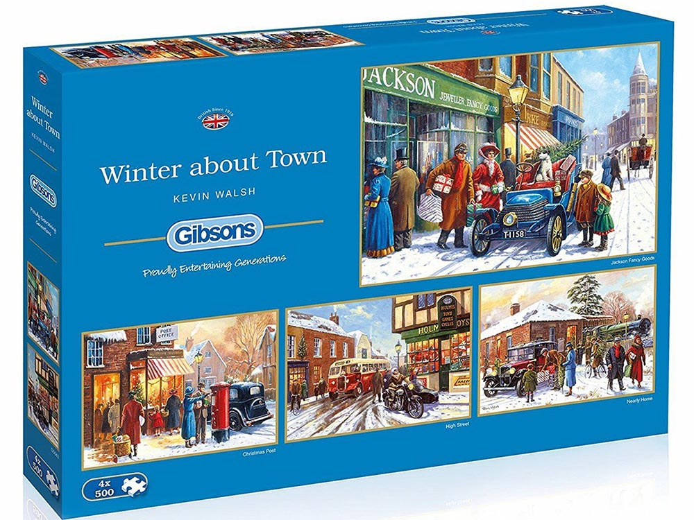 WINTER ABOUT TOWN 4 x 500pcs