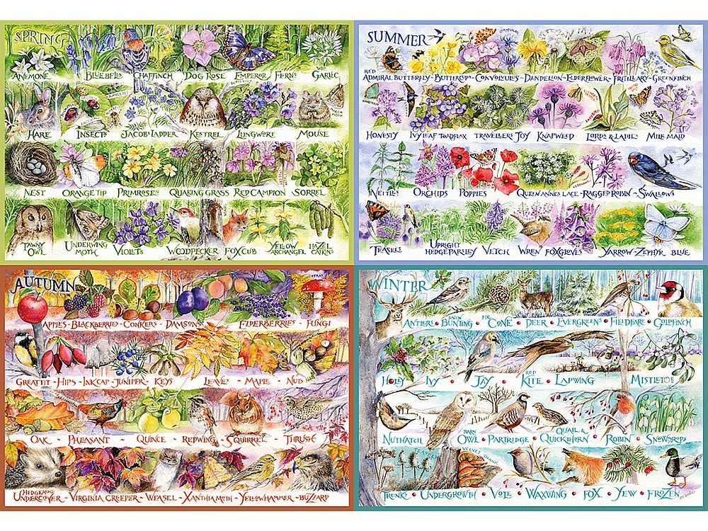 WOODLAND SEASONS 2000pc
