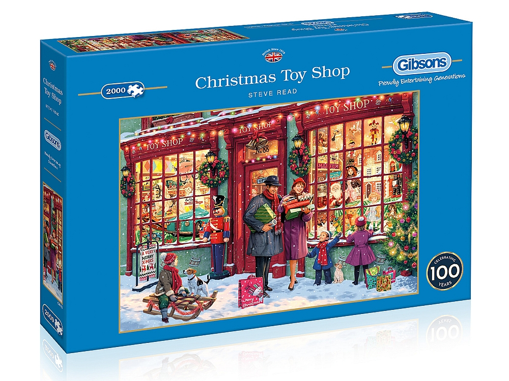 CHRISTMAS TOY SHOP 2000pc
