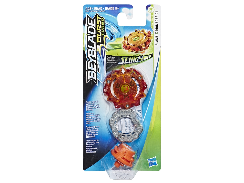 BEYBLADE SLINGSHOT SINGLE ASTD