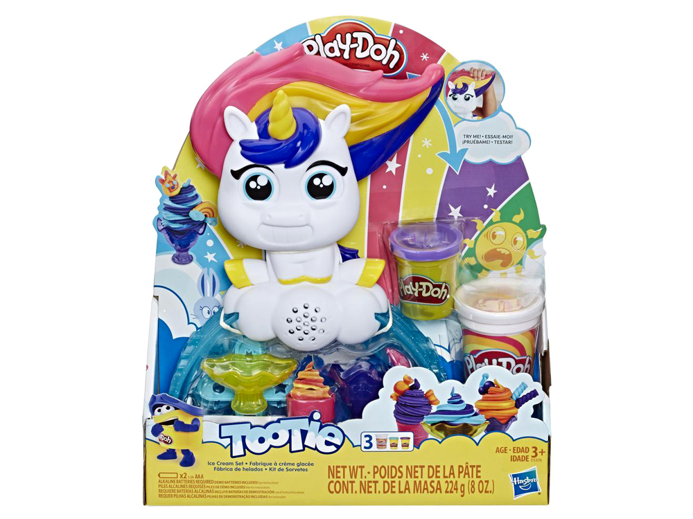 PLAYDOH TOOTIE ICE CREAM SET