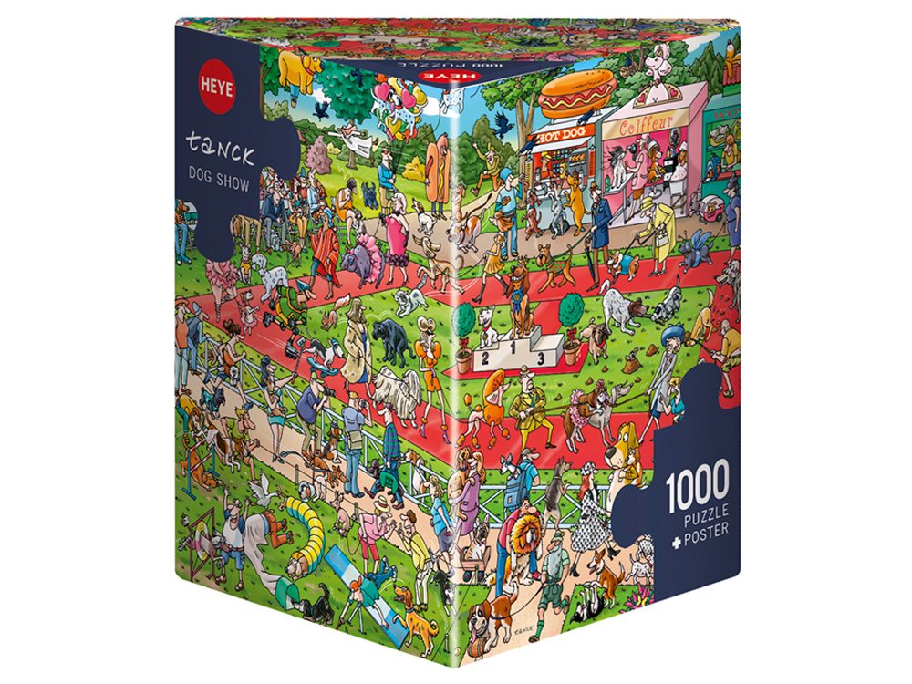 TANCK, DOG SHOW 1000pc