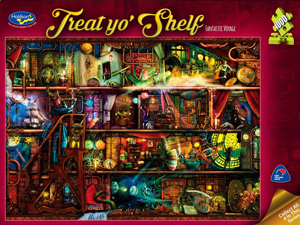 TREAT YO'SHELF FANTASTIC VOYAGE not yet available