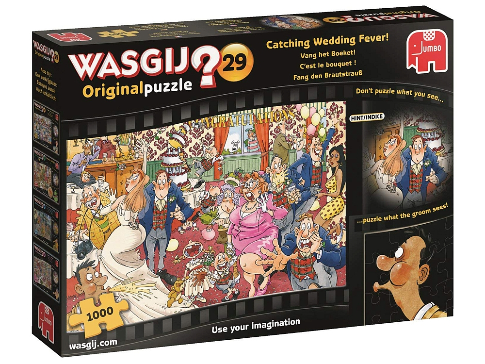 WASGIJ? ORIGINAL 29 WEDDING FV