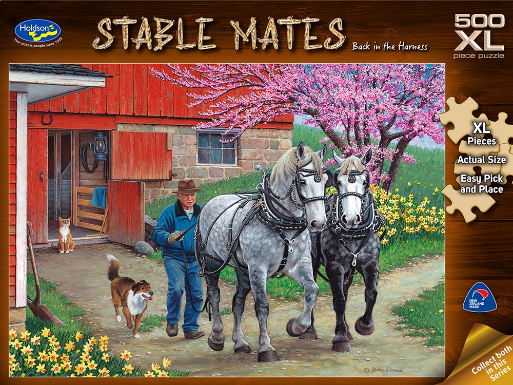 STABLE MATES HARNESS 500pc XL