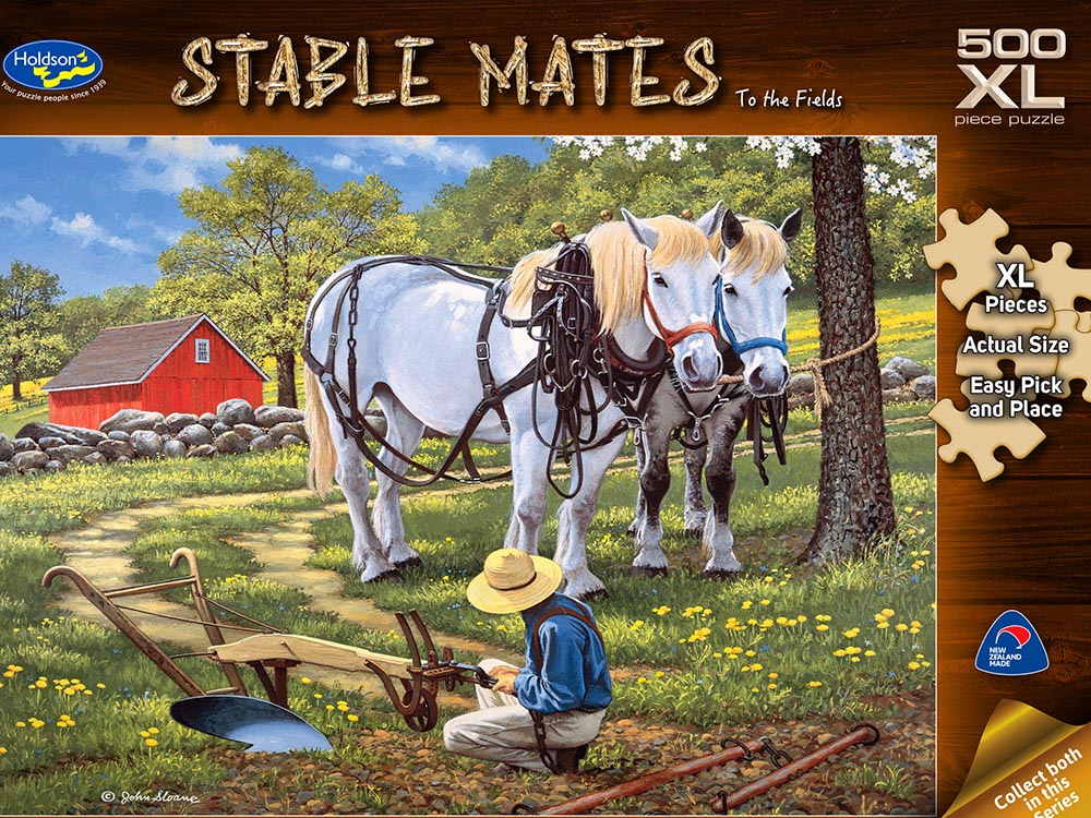 STABLE MATES FIELDS 500pc XL