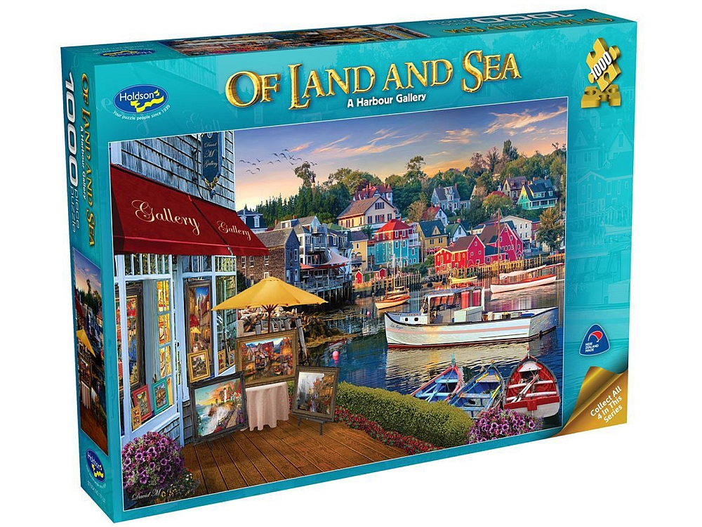 OF LAND & SEA 2 HARBOUR 1000pc
