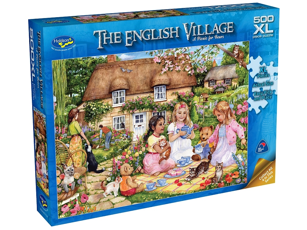 ENGLISH VILLAGE 2 PIC 500pcXL
