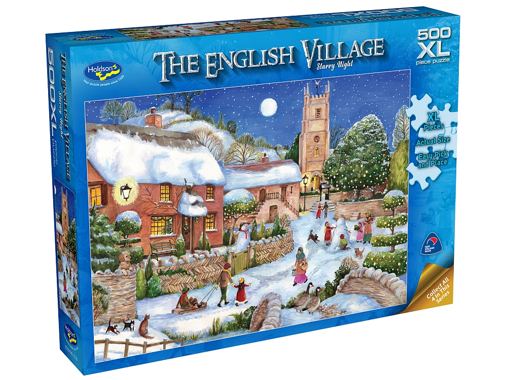 ENGLISH VILLAGE 2 STAR 500pcXL