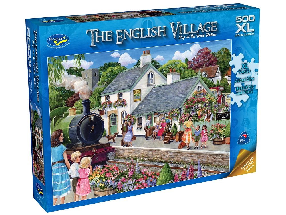 ENGLISH VILLAGE 2 STAT 500pcXL