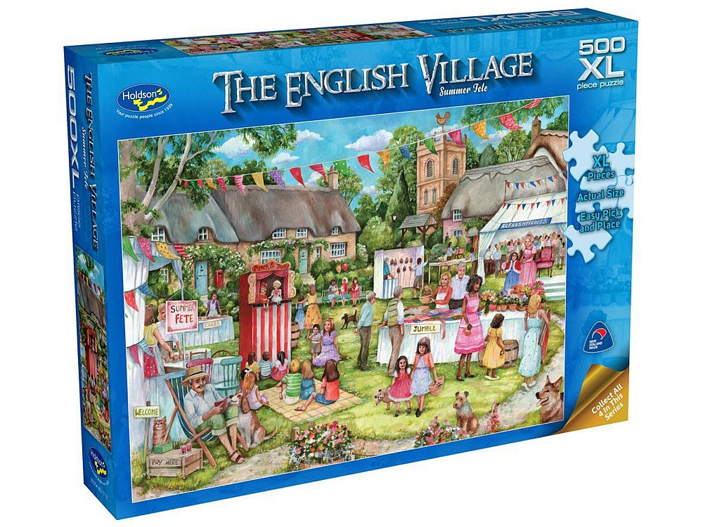 ENGLISH VILLAGE 2 FETE 500pcXL
