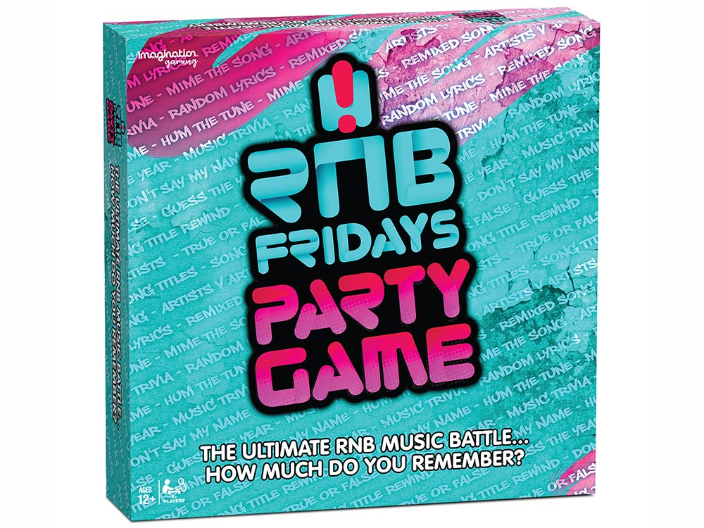 RnB FRIDAYS PARTY GAME
