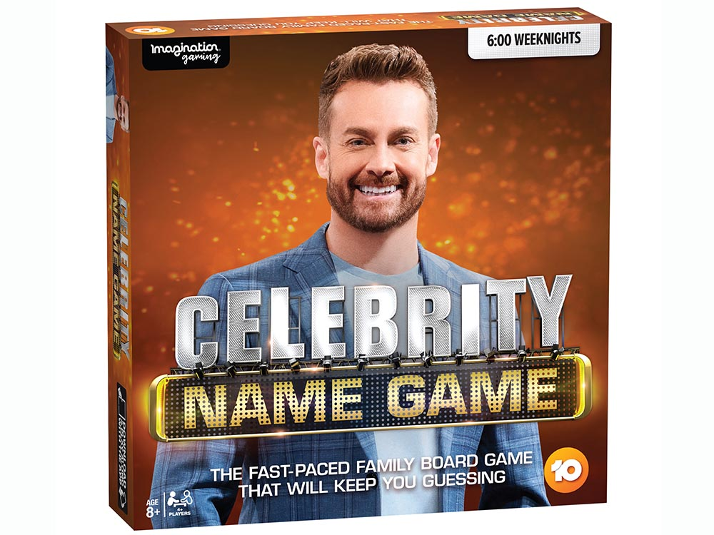 CELEBRITY NAME GAME ** TV **