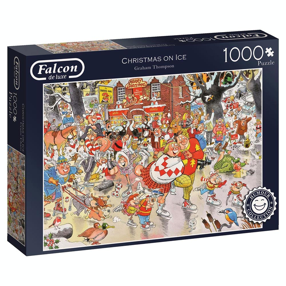CHRISTMAS ON ICE 1000pc