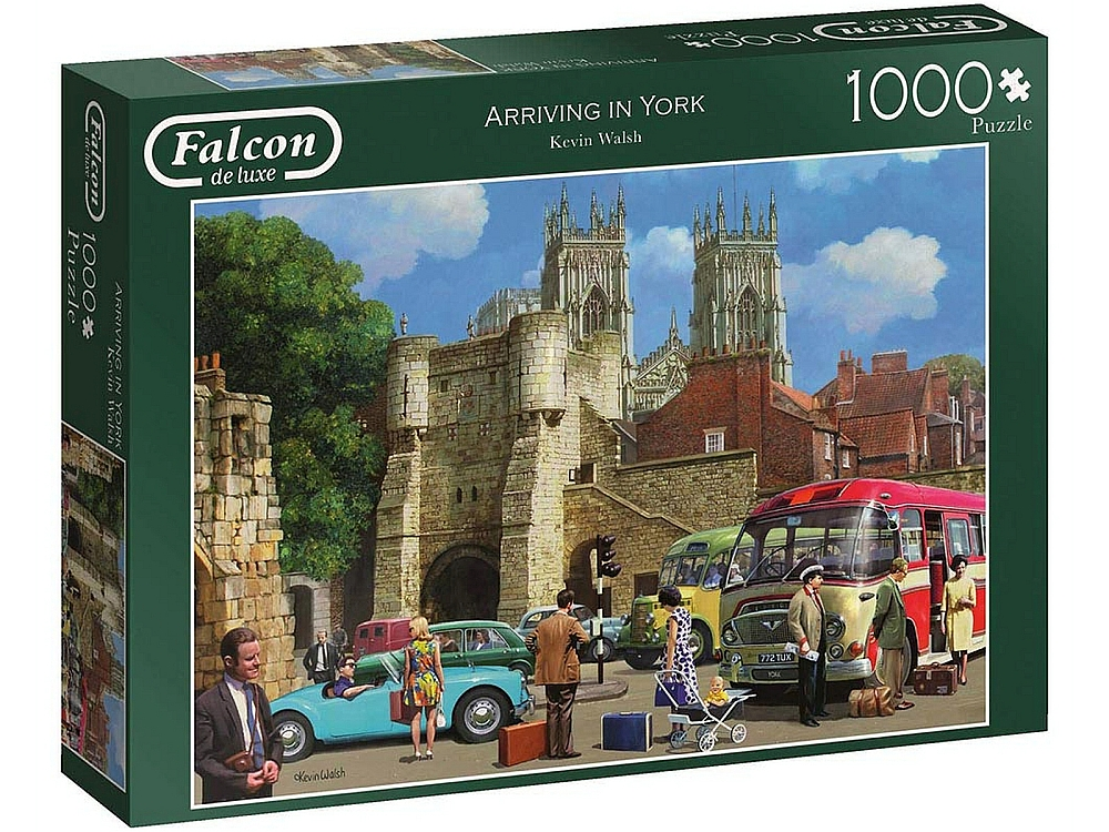 ARRIVING IN YORK 1000pc