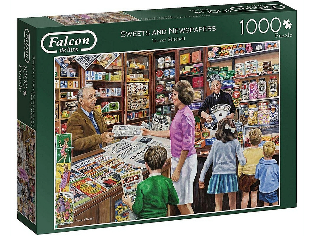 THE NEWSAGENT 1000pc