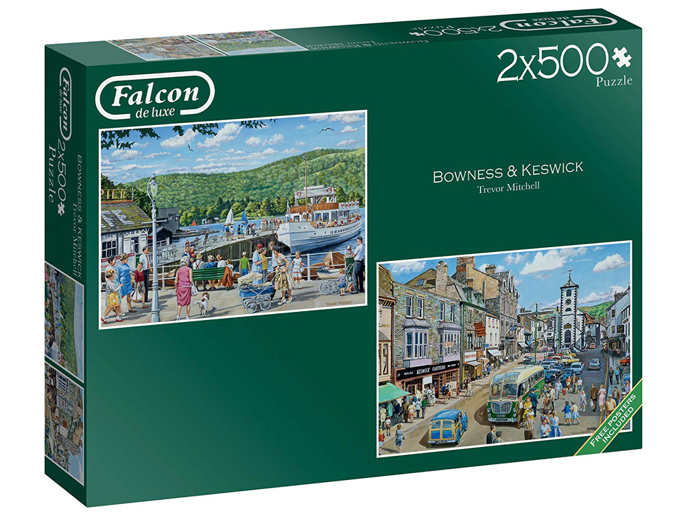 BOWNESS AND KESWICK 2 x 500pc