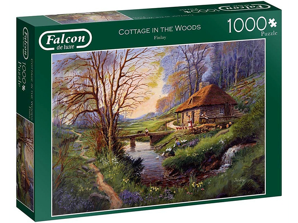 COTTAGE IN THE WOODS 1000pc