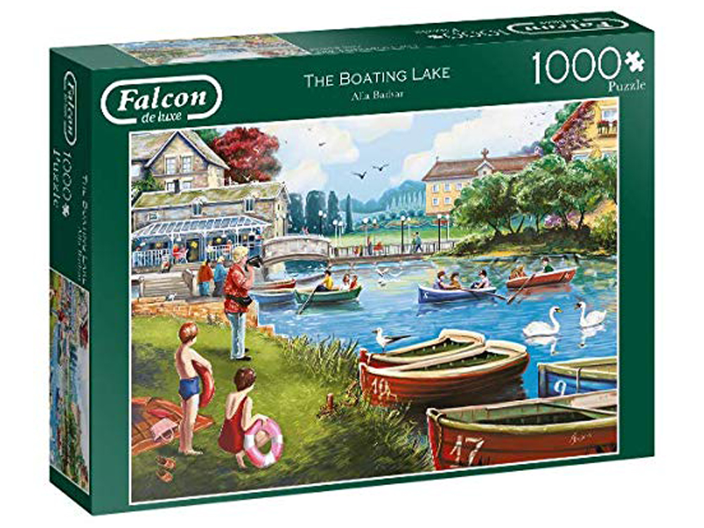 THE BOATING LAKE 1000pc