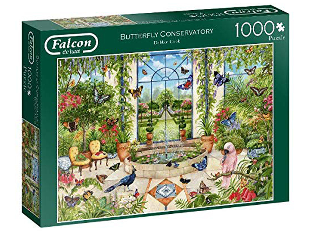 BUTTERFLY CONSERVATORY 1000pc