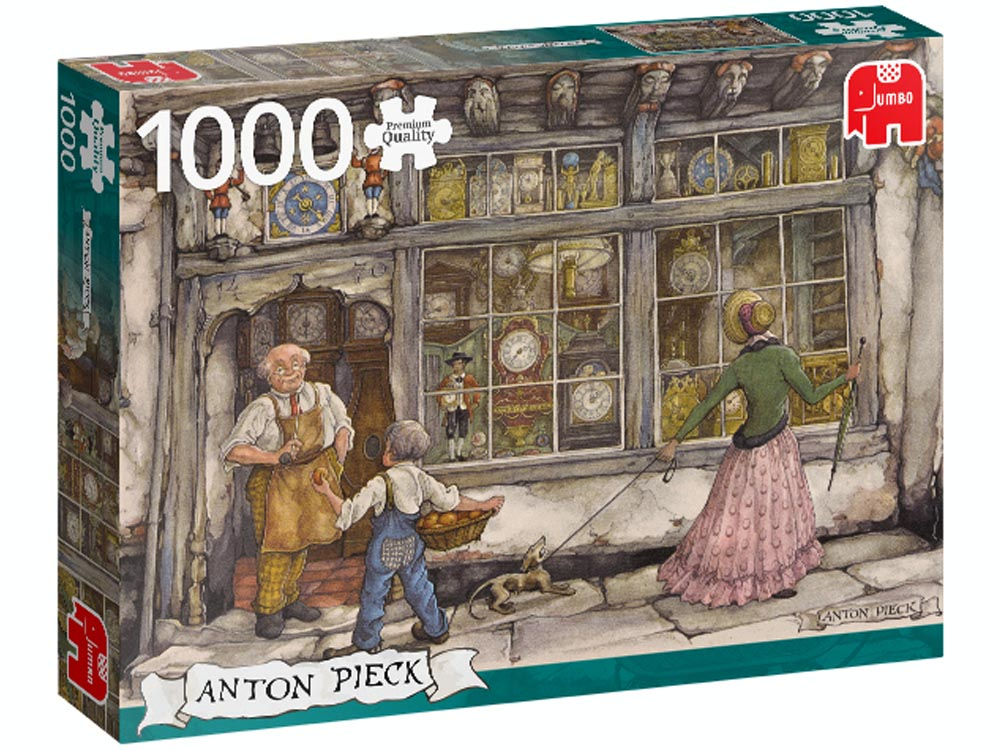 THE CLOCK SHOP, PIECK 1000pcs