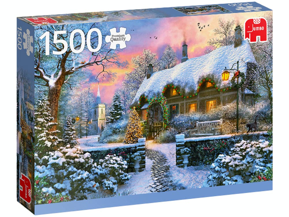 COTTAGE IN WINTER 1500pcs