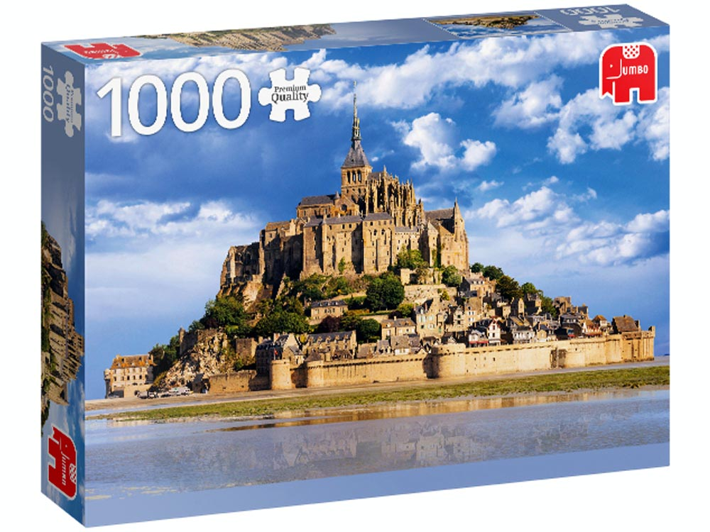 MONT SAINT-MICHEL 1000pc
