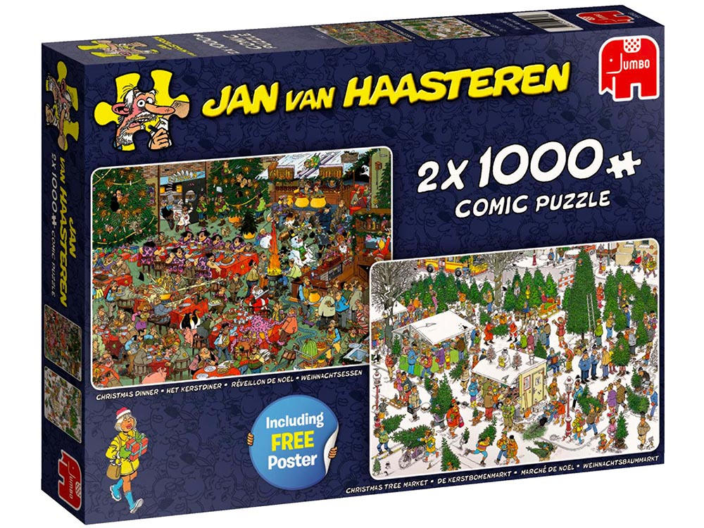 JVH CHRISTMAS GIFTS 2 x 1000pc