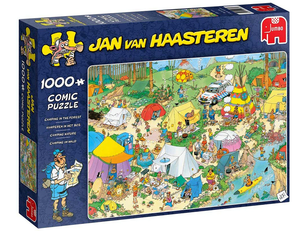 JVH CAMPING IN FOREST 1000pcs