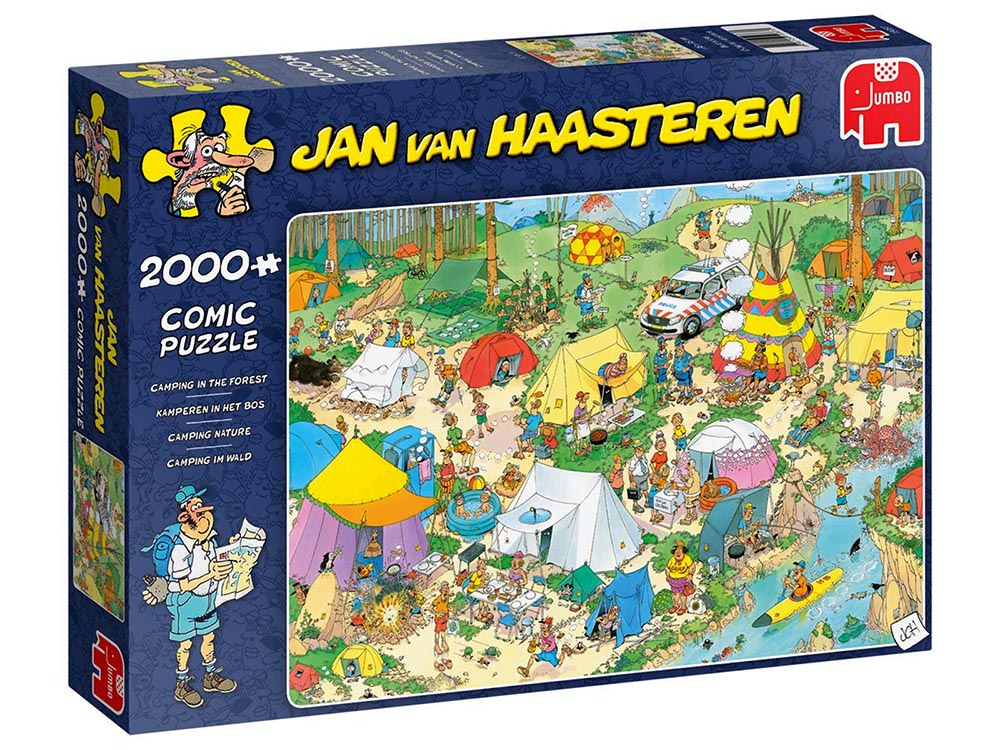 JVH CAMPING IN FOREST 2000pcs