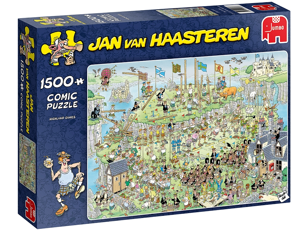 JVH HIGHLAND GAMES 1500pc