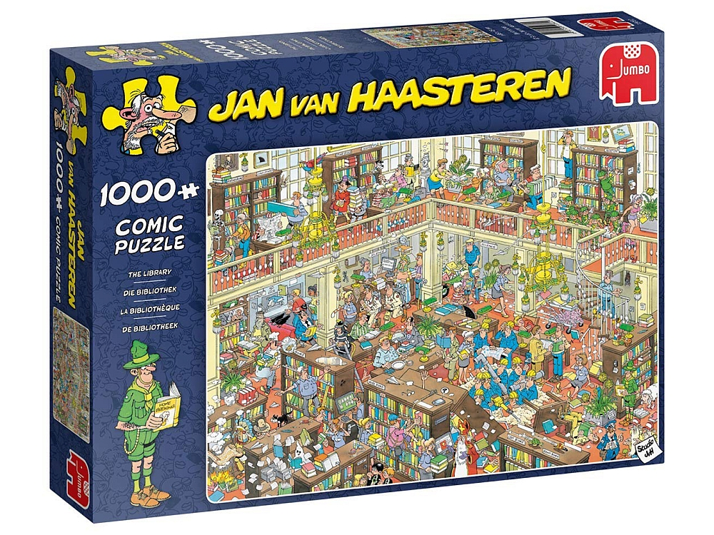 JVH THE LIBRARY 1000pc