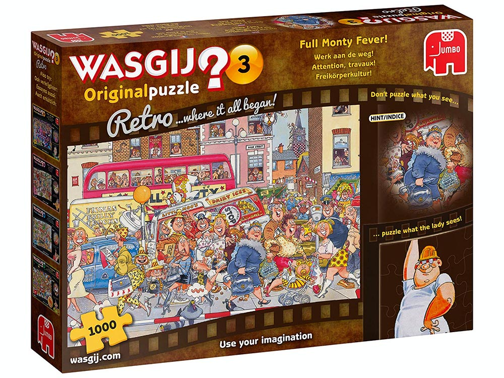 WASGIJ? RETRO ORIGINAL #3