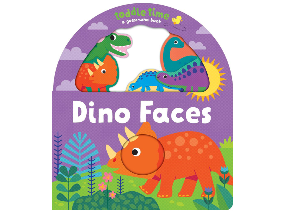 TODDLE TIME DINO FACES